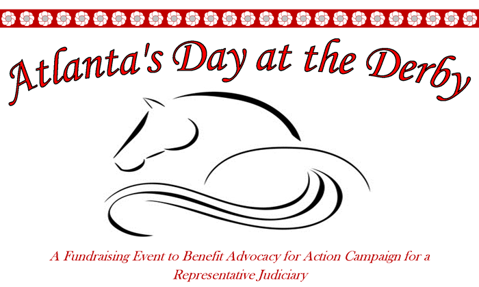 day at the derby fundraising event logo